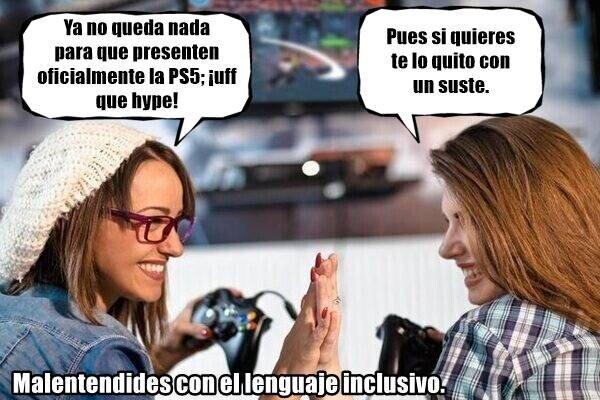 Meme_otros - Ya no se libran ni los gamers...