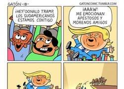 Enlace a Para lo único que mantearían a Trump