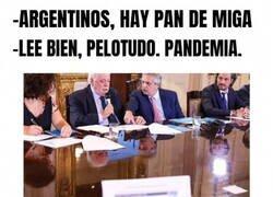 Enlace a El coronavirus llegando a Argentina