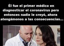 Enlace a Ya nos avisó este buen doctor del coronavirus y ahora ya es tarde para subsanarlo...
