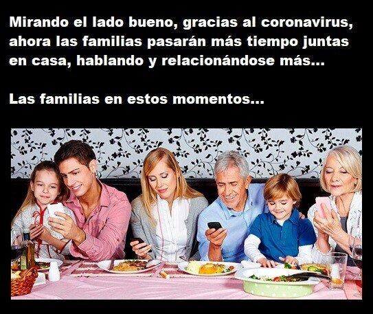 coronavirus,en casa,familias,hablar,relacionarse