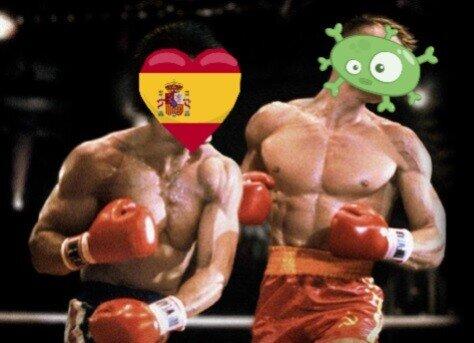 coronavirus,España,país,pandemia,pelea,vencer