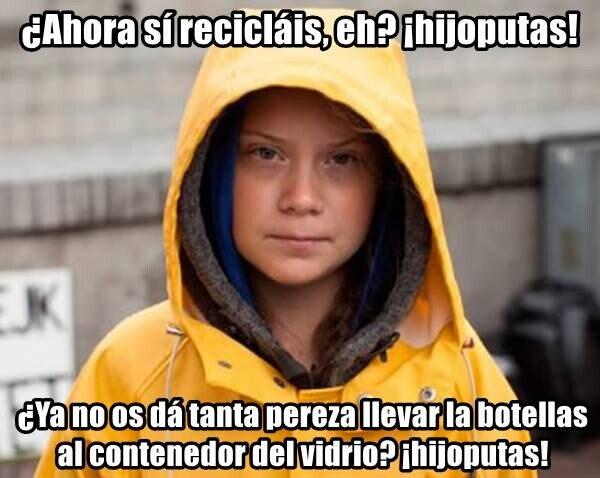 basura,cuarentena,Greta Thunberg