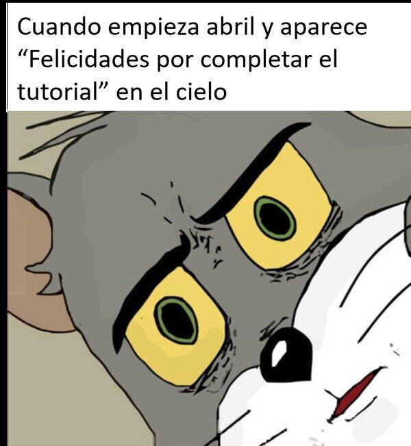 Meme_otros - Ahora comienza el nivel 1