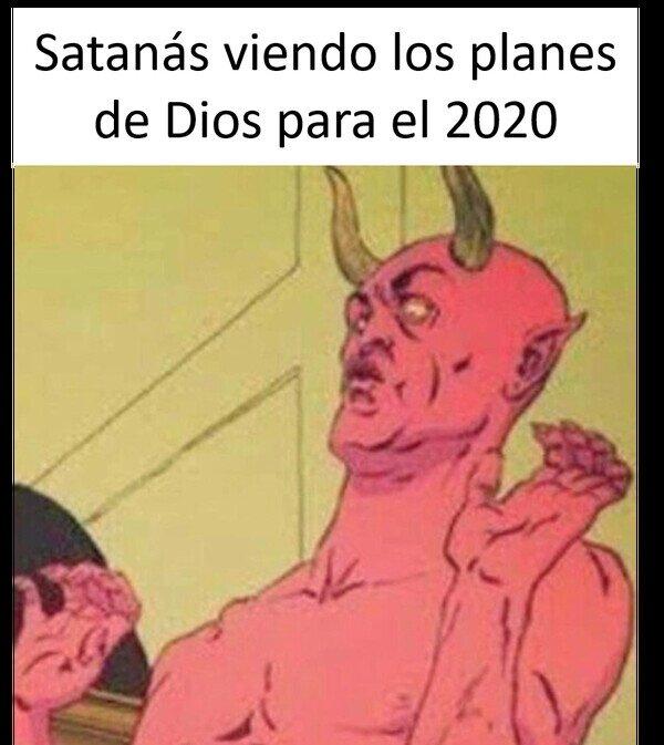 2020,Asombro,coronavirus,Diablo,Dios,Obo,Planes