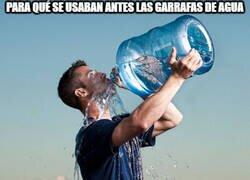 Enlace a La moda ahora de hacer ejercicios con botellas/garrafas de agua...