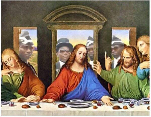 Meme_otros - Imágenes exclusivas de la última cena