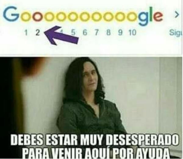 ayuda,google,página,segunda