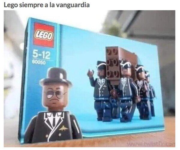 Meme_otros - Lego siempre va por delante