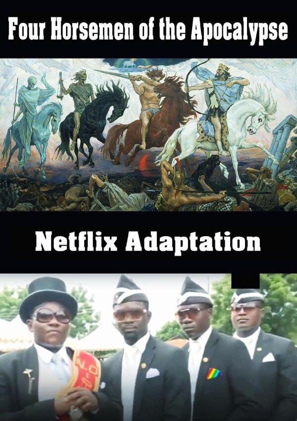 Meme_otros - Los jinetes del apocalipsis de nuestro tiempo