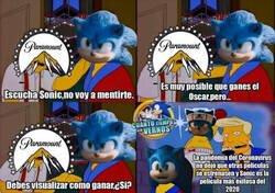 Enlace a Sonic ya se ve ganador