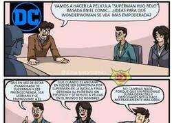 Enlace a Un gran comic VS una SJW peli