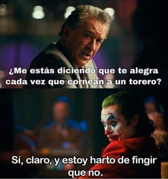 cornada,joker,torero