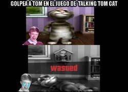 Enlace a Quien no le pegó a Tom en el juego, no tuvo infancia