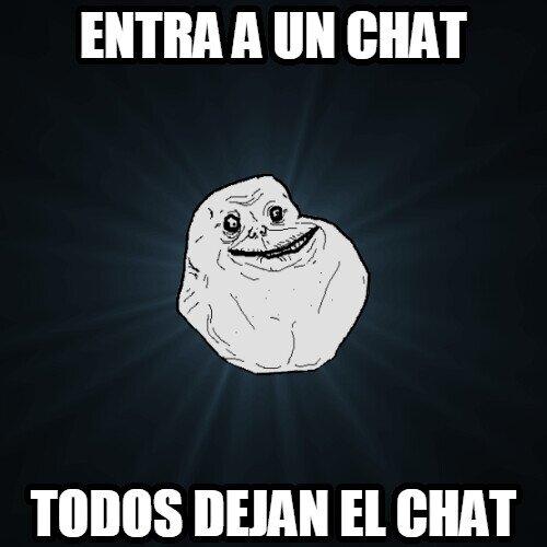 Meme_forever_alone - Típico en Forever Alone