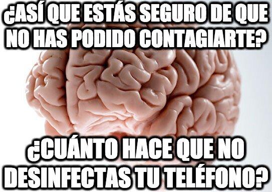 Cerebro_troll - Y lo estamos tocando constantemente