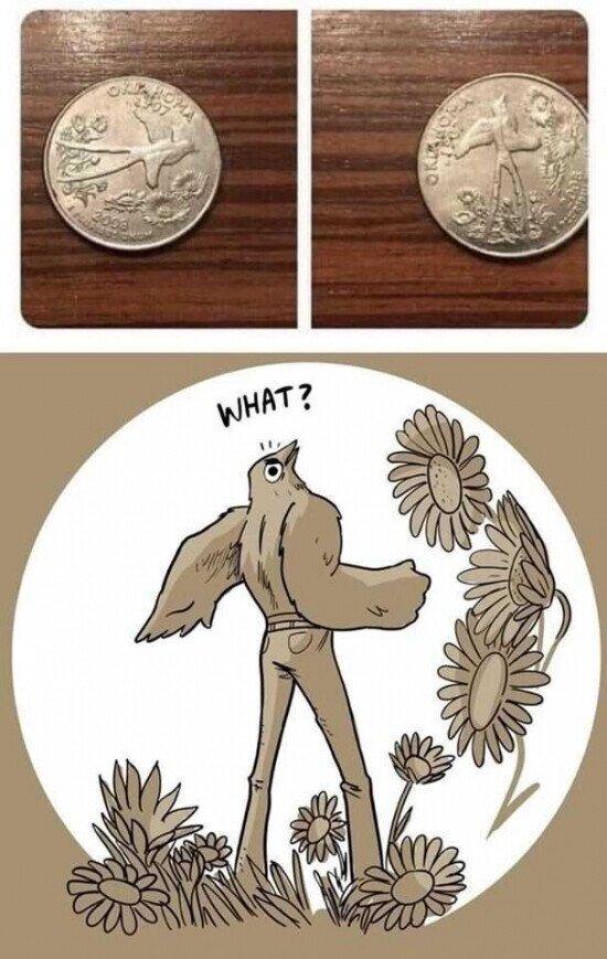 Otros - Lo que puede cambair una moneda según el punto de vista