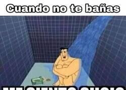Enlace a Cuando no te bañas
