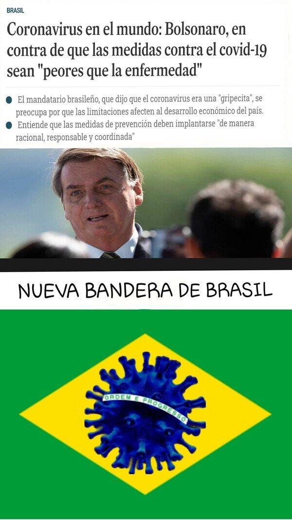 Allthethings - Bolsonaro la lía en Brasil