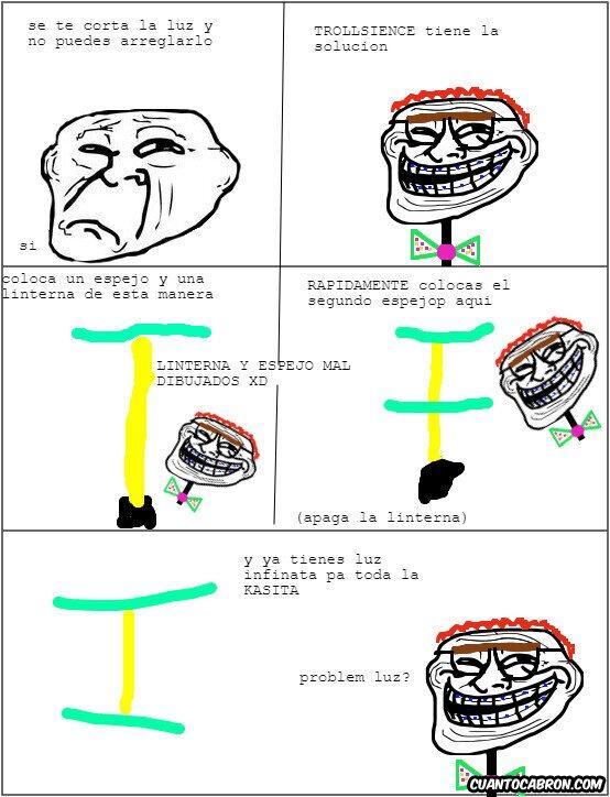 Trollface - Luz infinita