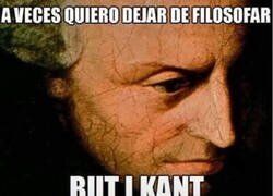Enlace a Ser Kant no es fácil