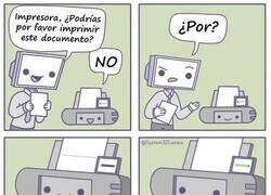 Enlace a ¿Por qué las impresoras son tan trolls?