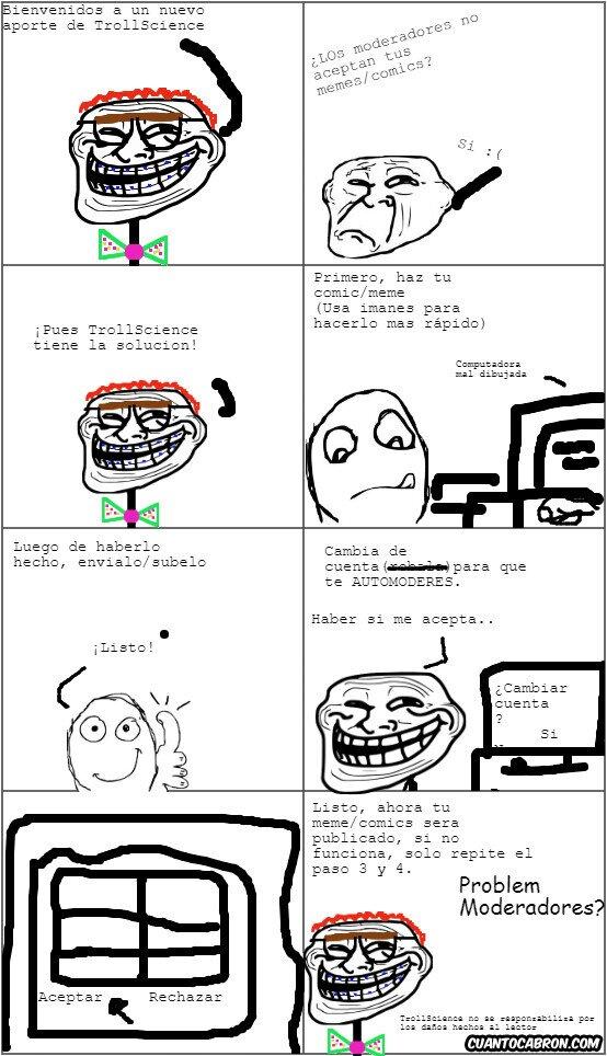 Trollface - Trollscience Siempre tiene la Solución
