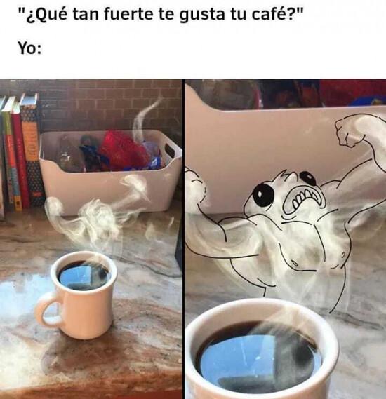 Meme_otros - Un café fortísimo