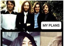 Enlace a 2020 me destuye como Yoko Ono destruyó a Los Beatles