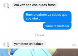 Enlace a Respondiendo a un otaku