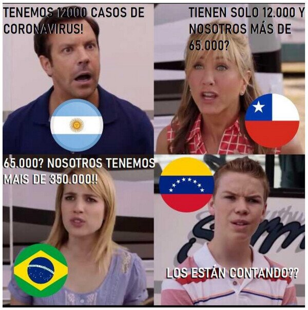 Meme_otros - La pandemia en latinoamérica