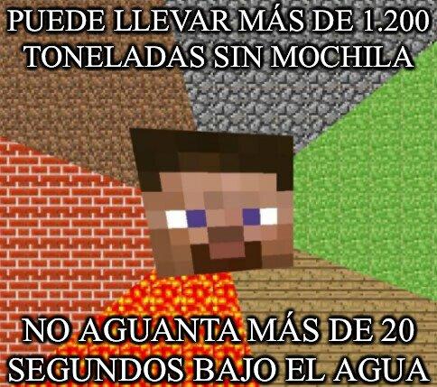 Minecraft - La lógica de Minecraft