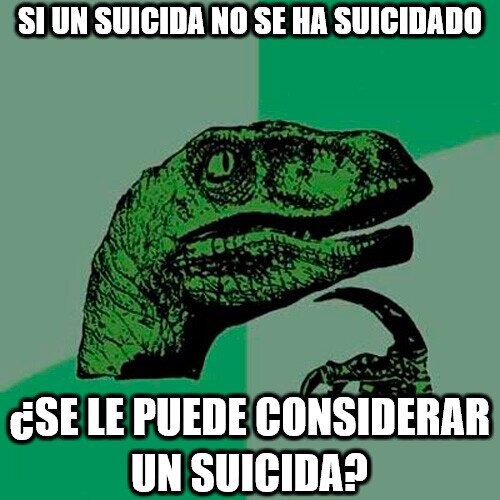Philosoraptor - El suicida