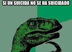 Enlace a El suicida