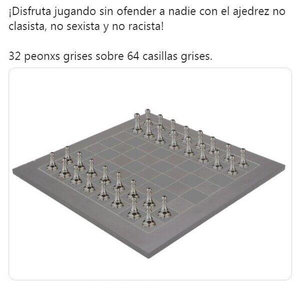 Meme_otros - El ajedrez de nuestros tiempos