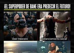 Enlace a Bane era todo un visionario