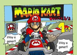 Enlace a Quien haya jugado al Mario Kart sabe lo jodidos que son esos caparazones azules...