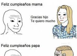 Enlace a Diferencias entre papá y mamá