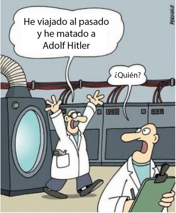 Hitler,matar,pasado,viajar