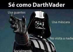 Enlace a Sé como Darth Vader