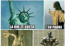 Enlace a Cosa de estatuas