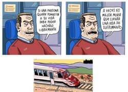 Enlace a Hay trenes que solo pasan una vez en la vida