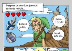 Enlace a Pobre Link, nunca nadie recuerda su nombre...