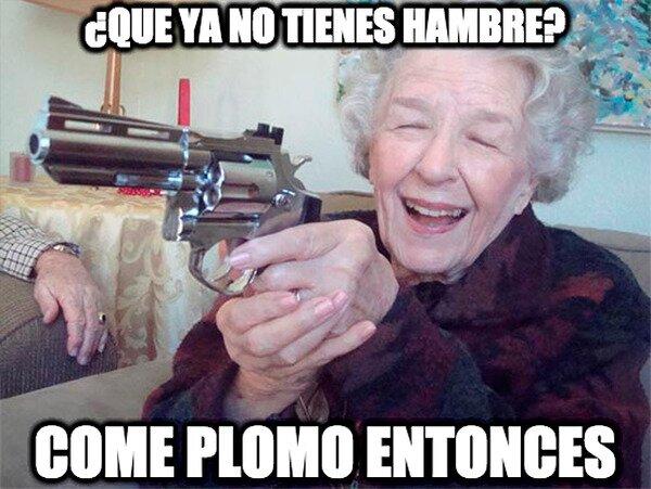 Abuela_amenazas - Mi abuela solo quiere que coma
