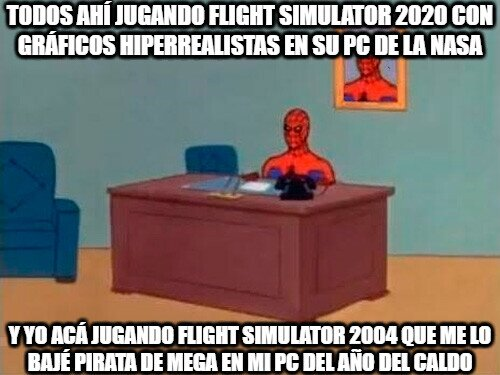 Spiderman60s - Los posers de flight simulator