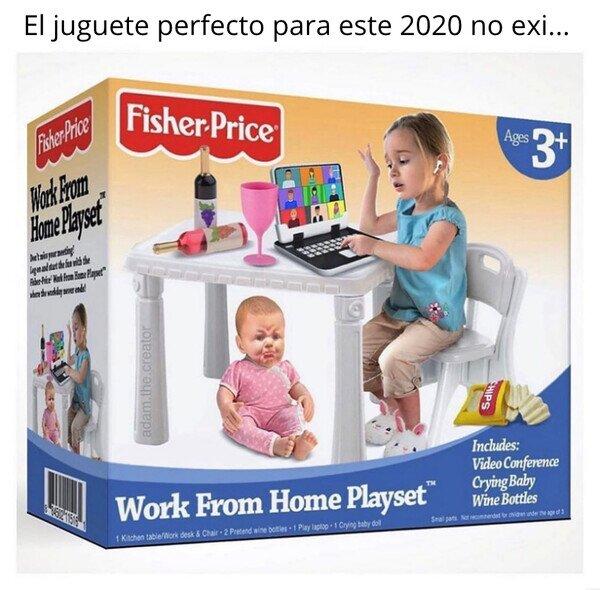 Meme_otros - Para que los niños teletrabajen desde pequeños