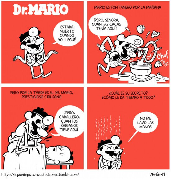 doctor,fontanero,Mario,secreto