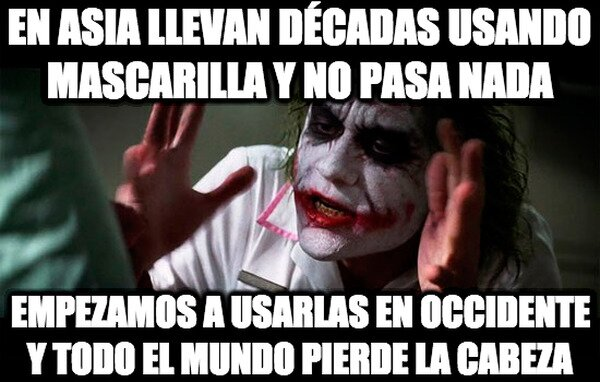 Joker - Mascarilla o no mascarilla