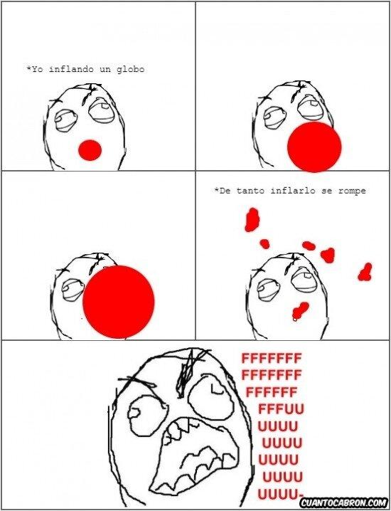 Ffffuuuuuuuuuu - Lo peor de los globos