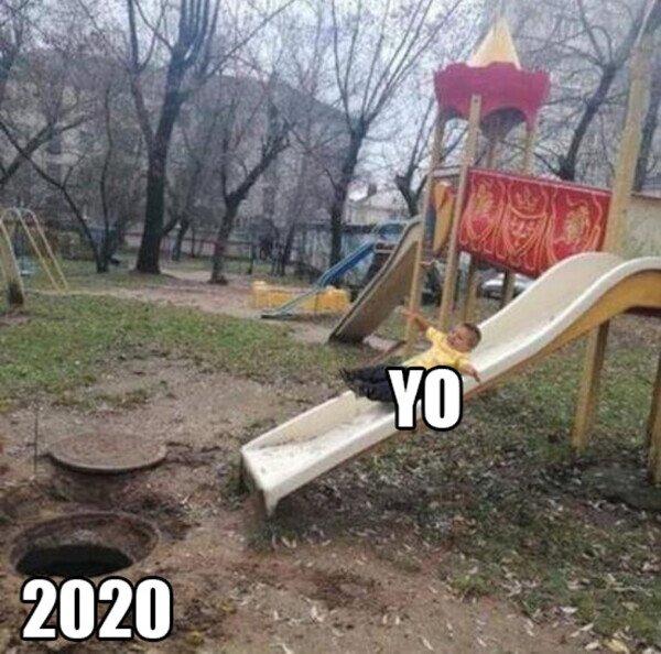 2020,fail,niño,tobogan